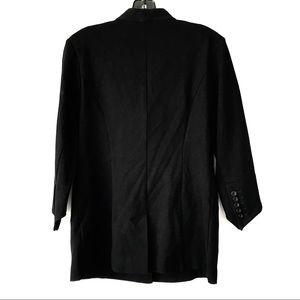 CAbi Jackets & Coats - CAbi 3026 black pointe Knit Turner Blazer Jacket 6